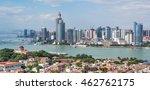 view from gulangyu  xiamen ... | Shutterstock . vector #462762175
