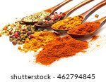 an aromatic colorful spicy...   Shutterstock . vector #462794845