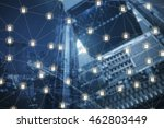 security of technology... | Shutterstock . vector #462803449