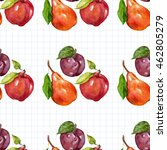seamless watercolor pattern...   Shutterstock . vector #462805279