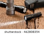 pocket flashlight for everyday... | Shutterstock . vector #462808354