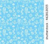 pattern biology   Shutterstock .eps vector #462813055