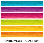 colorful grunge banners set....   Shutterstock .eps vector #46281409
