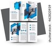 brochure design brochure... | Shutterstock .eps vector #462820939