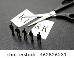 business team thinking about... | Shutterstock . vector #462826531