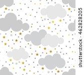 scandinavian seamless pattern... | Shutterstock .eps vector #462828205