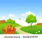 vector cartoon illustration of... | Shutterstock .eps vector #462833599