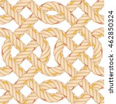 seamless pattern with rope... | Shutterstock .eps vector #462850324