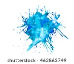modern  colored watercolor | Shutterstock . vector #462863749