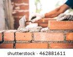 Bricklayer Worker Installing...
