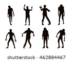 Vector Zombie Collection In...