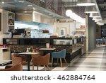 cuisine in modern restaurant   | Shutterstock . vector #462884764