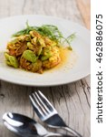 """Small photo of Thai Food: """"Pad Ped Sator"""" (Spicy Green Bean Stir-Fried)"""