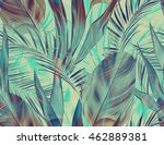 tropical colorful background... | Shutterstock . vector #462889381