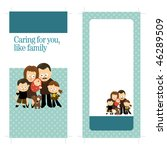 4x9 two sided rack card | Shutterstock .eps vector #46289509