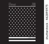 america black flag typography ... | Shutterstock .eps vector #462895975