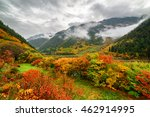 amazing view of mountains in... | Shutterstock . vector #462914995