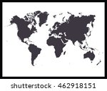 world map | Shutterstock .eps vector #462918151