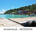 perhentian island  malaysia  ... | Shutterstock . vector #462920104