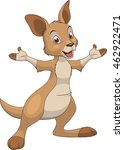 cute baby kangaroo   Shutterstock .eps vector #462922471