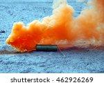 smoke bombs lying on the ground ...   Shutterstock . vector #462926269