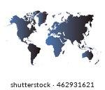world map | Shutterstock .eps vector #462931621