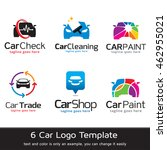 car logo template design vector | Shutterstock .eps vector #462955021