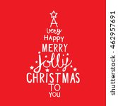 a very happy merry jolly... | Shutterstock .eps vector #462957691