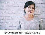 senior vietnamese woman...   Shutterstock . vector #462972751