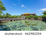Entrance of Citadel, Hue, Vietnam. Unesco World Heritage Site