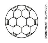 soccer sport ball equipment... | Shutterstock .eps vector #462998914