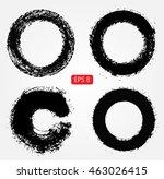 grunge circles.grunge round... | Shutterstock .eps vector #463026415