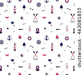 seamless texture from sailing... | Shutterstock .eps vector #463081855