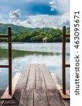 lake  background | Shutterstock . vector #463095671
