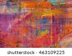 painting artistic bright color... | Shutterstock . vector #463109225