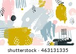 vector abstract background with ... | Shutterstock .eps vector #463131335