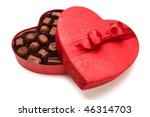 A Box Of Valentine's Chocolate