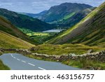 the kirkstone pass inn lake... | Shutterstock . vector #463156757