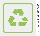 recycle symbol. | Shutterstock . vector #463190639
