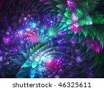 bright fractal | Shutterstock . vector #46325611