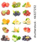 fruit collection   Shutterstock . vector #46327252