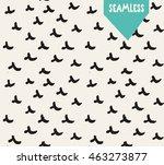handsketched vector seamless... | Shutterstock .eps vector #463273877