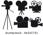 camera | Shutterstock .eps vector #46331731