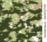 camo army background | Shutterstock .eps vector #463322759