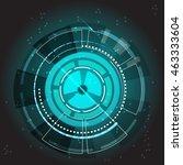 technology transfer gears... | Shutterstock .eps vector #463333604