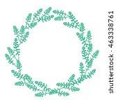 botanical vector illustration.... | Shutterstock .eps vector #463338761