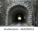 Stone Tunnel With Light Coming...