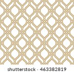 abstract pattern in arabian... | Shutterstock . vector #463382819