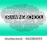 drawing school representing... | Shutterstock . vector #463384055