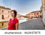 environmental portrait of... | Shutterstock . vector #463437875